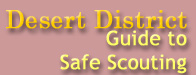 Guide to Safe Scouting page banner